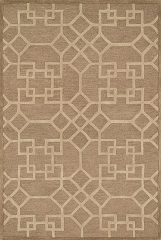Image of Camel and Beige Rug