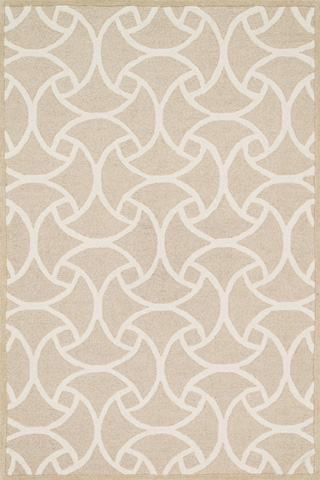 Image of Beige and Ivory Rug