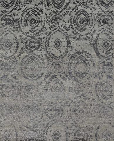 Image of Grey and Indigo Rug