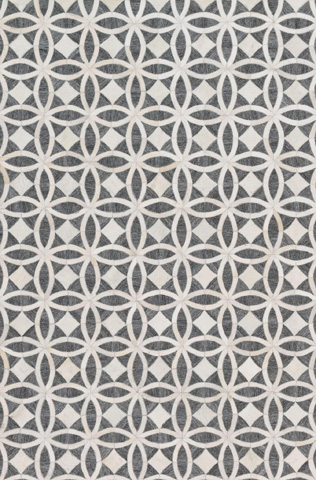 Image of Graphite and Ivory Rug