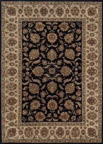 Loloi Rugs - Black and Ivory Rug - EG-04 BLACK / IVORY