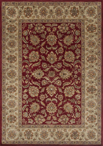 Image of Red and Sage Rug
