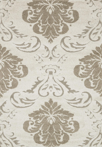 Image of Ivory and Beige Rug