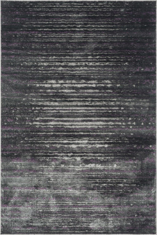 Image of Pewter and Purple Rug