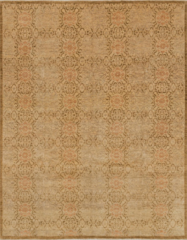 Image of Antique Beige and Brown Rug