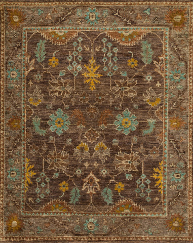 Image of Brown and Taupe Rug