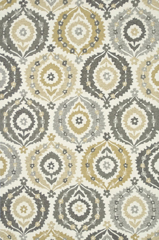 Image of Ivory and Graphite Rug