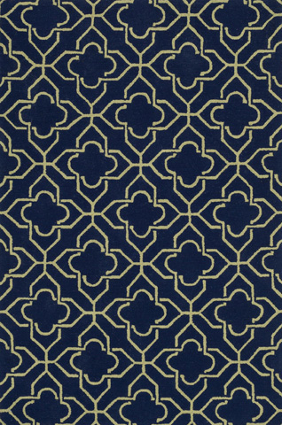 Loloi Rugs - Navy and Green Rug - FC-41 NAVY / GREEN
