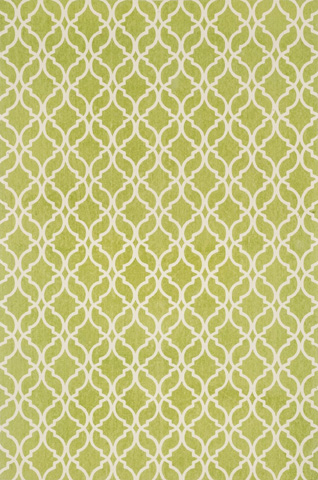 Image of Apple Green and Ivory Rug