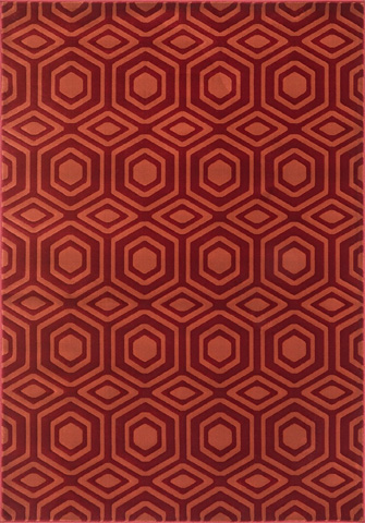 Image of Red and Rust Rug