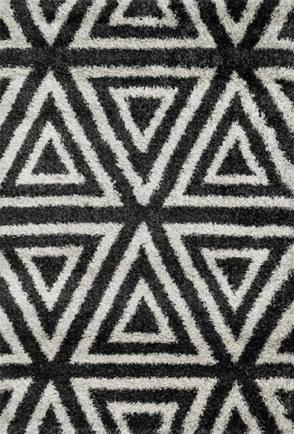 Loloi Rugs - Charcoal and Ivory Rug - HCO02 CHARCOAL / IVORY