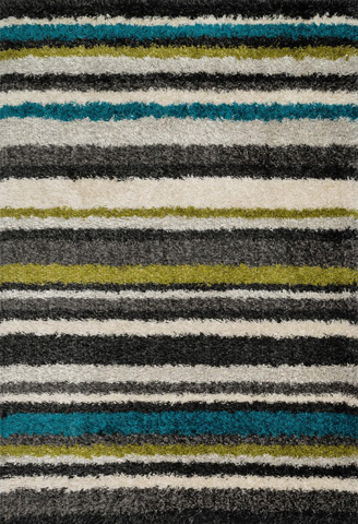 Image of Green and Multi Rug