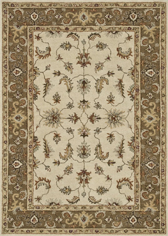 Image of Ivory and Bronze Rug