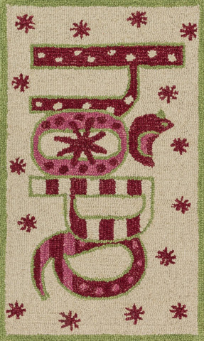 Loloi Rugs - Ivory and Red Rug - HSK18 IVORY / RED