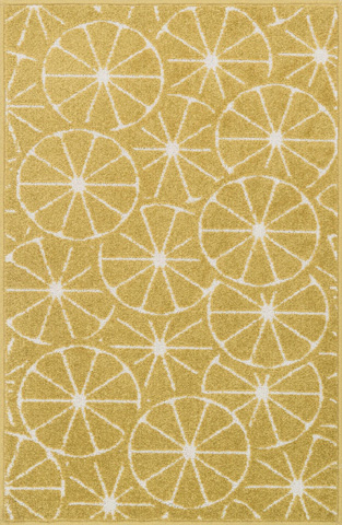 Image of Green and Ivory Rug