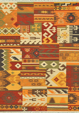 Loloi Rugs - Multi and Patch Rug - IA-04 MULTI / PATCH
