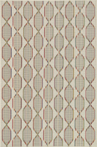 Loloi Rugs - Ivory and Multi Rug - IB-09 IVORY / MULTI