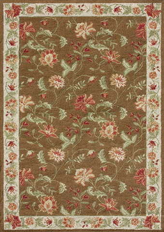 Image of Brown and Beige Rug