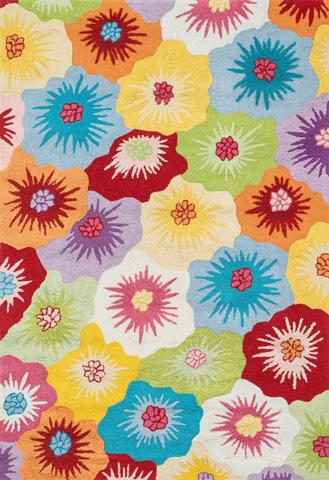 Loloi Rugs - Multi Floral Rug - JL-15 MULTI FLORAL