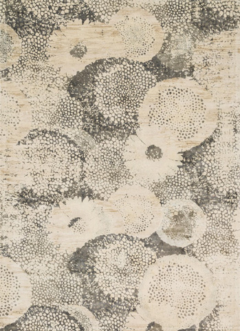 Loloi Rugs - Ivory and Smoke Rug - JO-04 IVORY / SMOKE