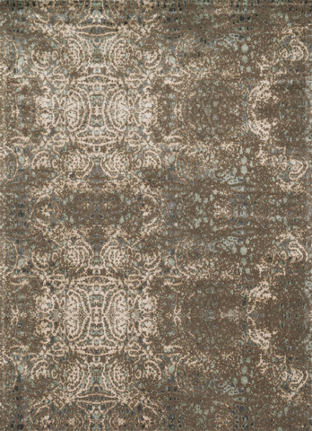 Image of Dk Taupe and Multi Rug