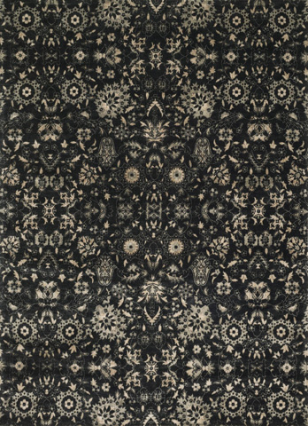 Image of Black and Silver Rug