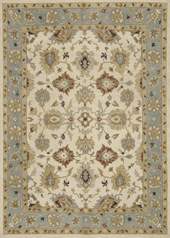 Image of Beige and Sky Rug