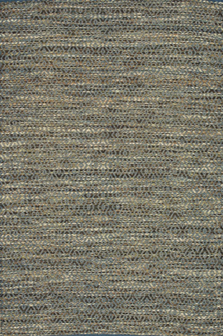 Image of Blue and Natural Rug