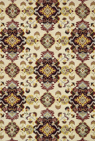 Image of Multi and Red Rug