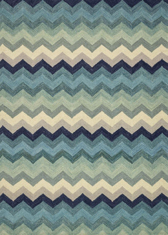 Image of Multi and Blue Rug
