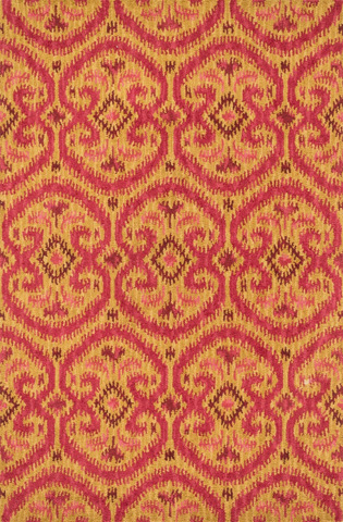 Image of Gold and Berry Rug