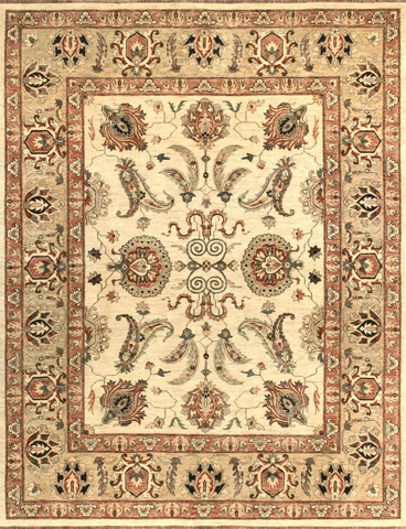 Image of Ivory and Gold Rug