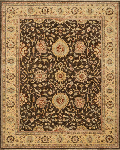 Image of Chocolate and Gold Rug