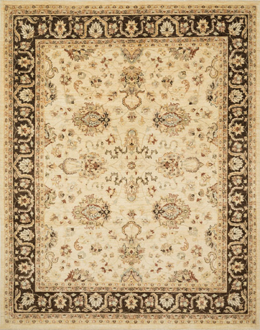 Image of Ivory and Mocha Rug