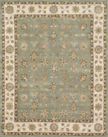 Image of Blue and Beige Rug