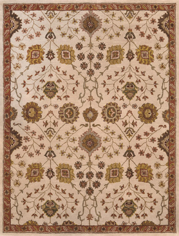 Image of Ivory and Spice Rug
