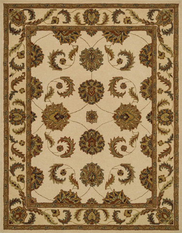 Image of Ivory and Cream Rug