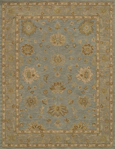 Image of Mist and Taupe Rug