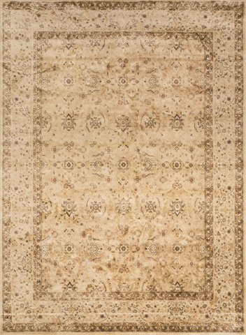 Image of Flax and Antique Beige Rug