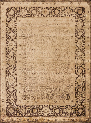 Image of Wheat and Brown Rug