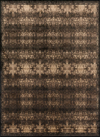Image of Expresso and Black Rug