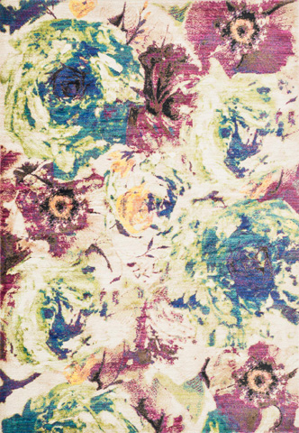 Image of Magenta and Multi Rug