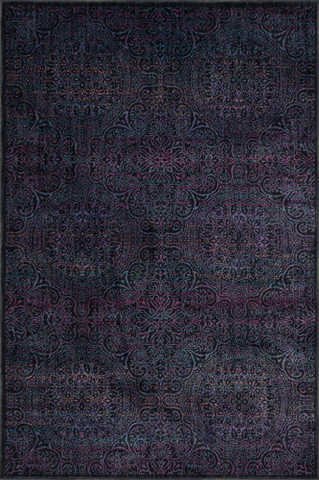 Image of Charcoal and Multi Rug