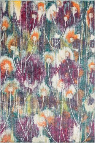 Image of Fuchsia and Multi Rug