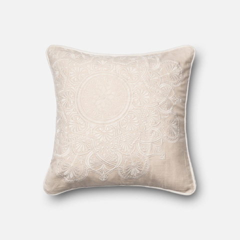 Loloi Rugs - Ivory Pillow - P0117 IVORY