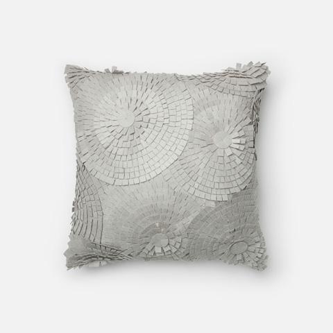 Loloi Rugs - Grey Pillow - P0221 GREY