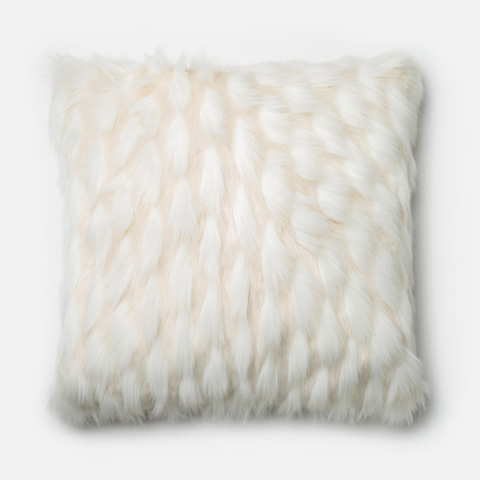 Loloi Rugs - White Pillow - P0265 WHITE