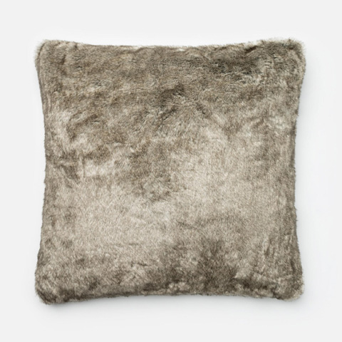 Loloi Rugs - Grey Pillow - P0266 GREY