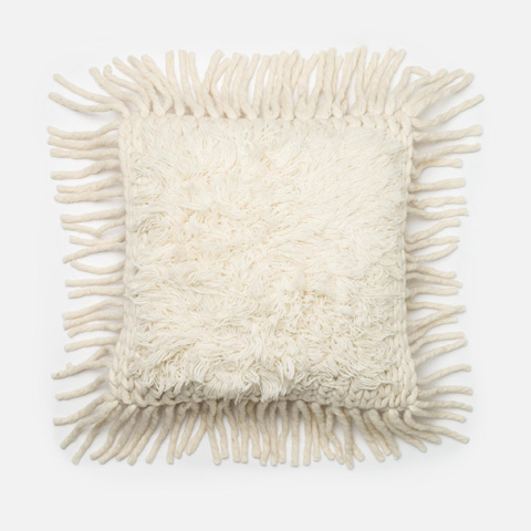 Loloi Rugs - Ivory Pillow - P0326 IVORY