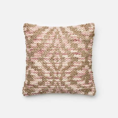 Loloi Rugs - Lilac and Beige Pillow - P0332 LILAC / BEIGE